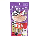 日本 CIAO 啾嚕燒肉泥 SC-109 消臭配方鮪魚風味 14g*4入