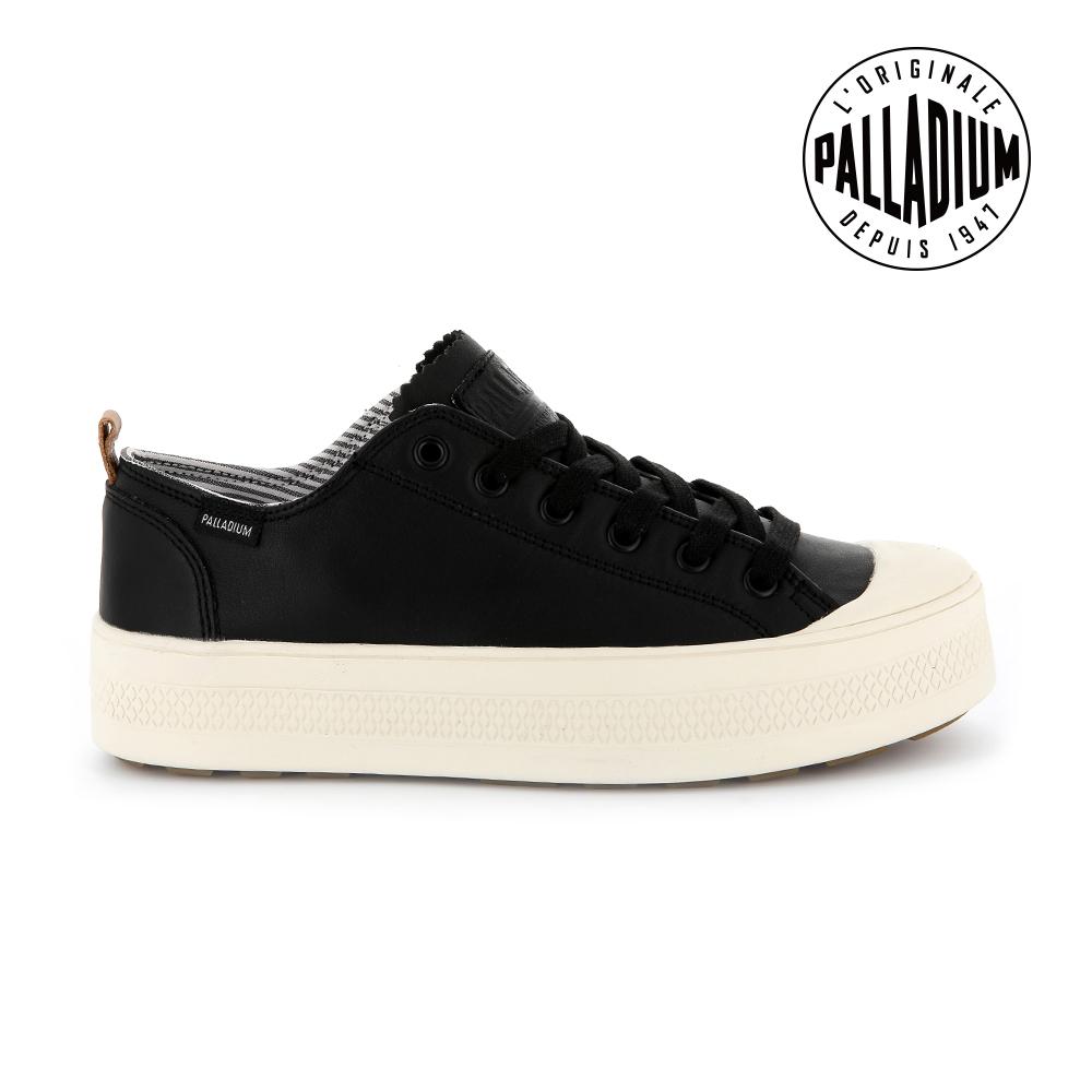 Palladium SUB LACE LTH低筒女鞋-黑