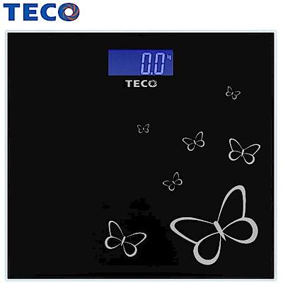 TECO東元藍光時尚体重計(XYFWT486)