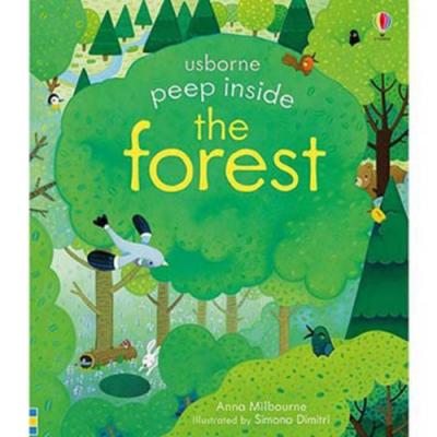 Peep Inside The Forest 瞧瞧看翻頁操作書:認識森林