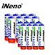 iNeno-鎳氫高容量充電電池3號8入-4號8入