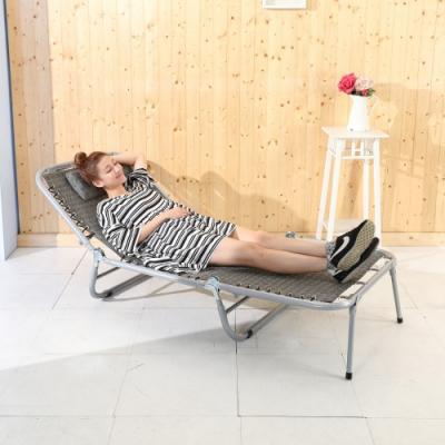 BuyJM 專利加大五段式三折休閒床/躺椅-免組