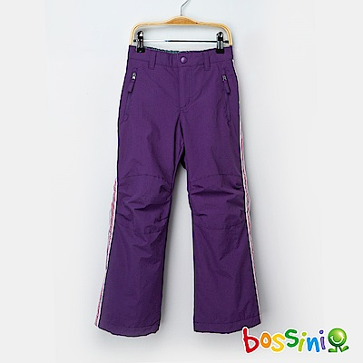 bossini女童-高效熱能雪褲深紫