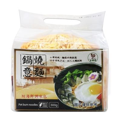 金雞牌 鍋燒意麵-附海鮮調味包(60gx5包)
