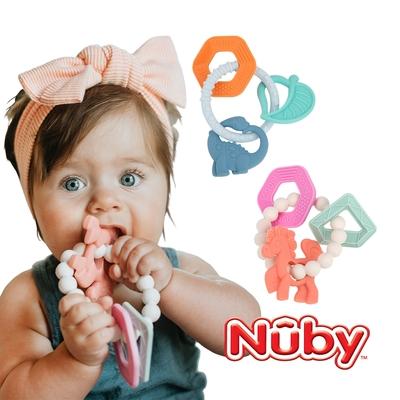 Nuby 矽膠手環固齒器
