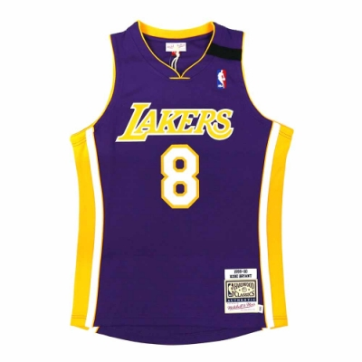 M&N Authentic球員版復古球衣 湖人隊 99-00 #24 Kobe Bryant
