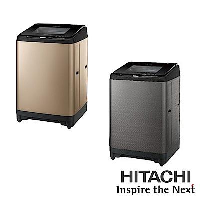 [無卡分期-12期]HITACHI日立 17公斤變頻直立式洗衣機 SF170XBV