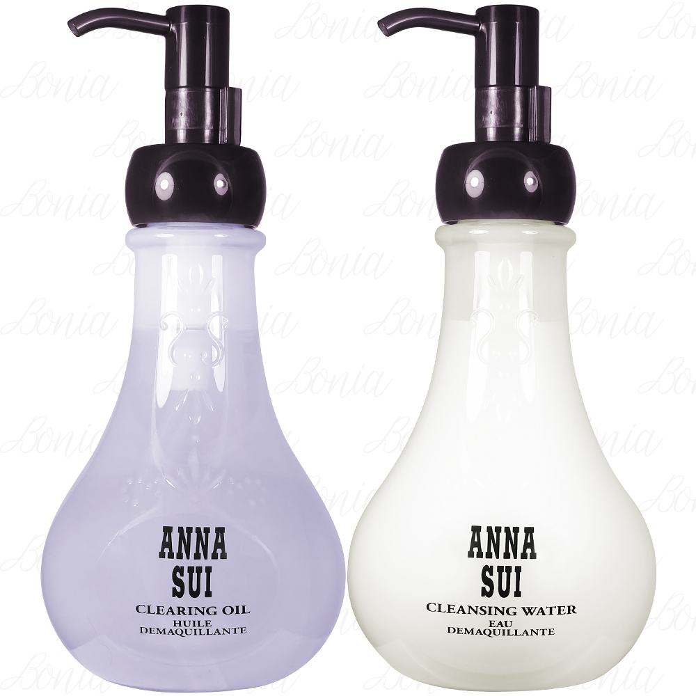 ANNA SUI 安娜蘇 山茶籽卸妝油(200ml)+山茶籽卸妝水(200ml)