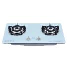 和成HCG 雙環銅合金爐蓋鑄鐵爐架強化玻璃檯面式二口瓦斯爐(GS293)