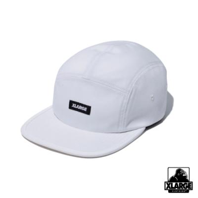XLARGE PATCHED CAMP CAP 五分割帽-白