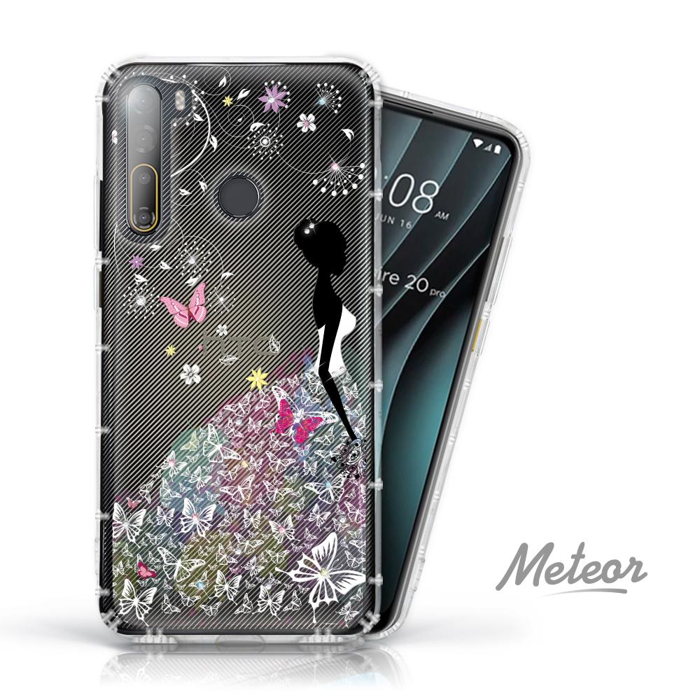 Meteor HTC Desire 20 Pro 奧地利水鑽殼 - 花嫁