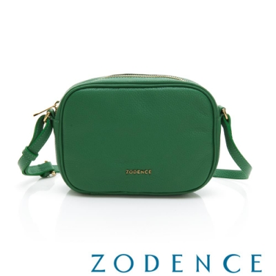 ZODENCE RELAX系列進口彩色牛皮橫式皮夾包 草綠
