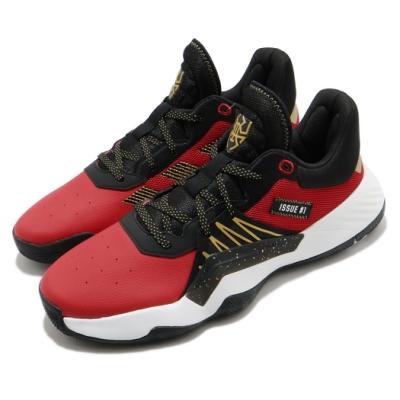 adidas 籃球鞋 DON Issue 1 GCA 男鞋 愛迪達 緩震 球鞋穿搭 米契爾 黑 紅 EF9966