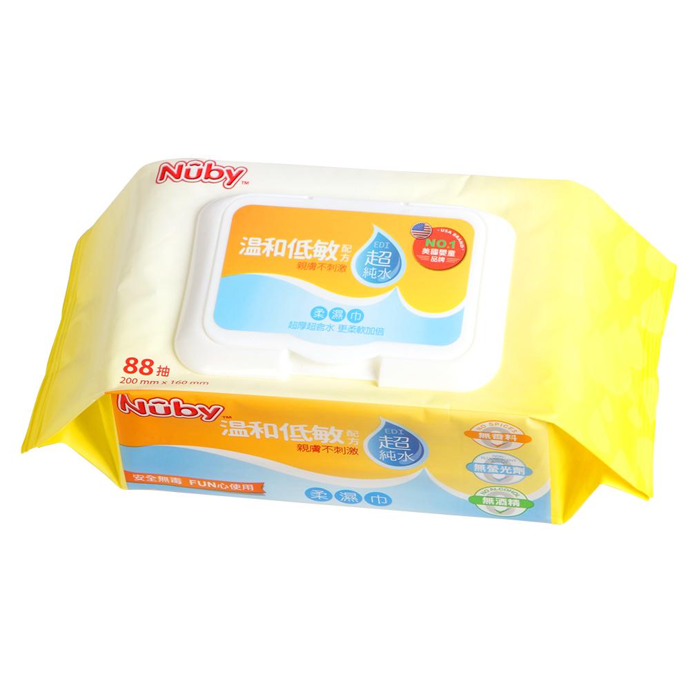 Nuby EDI超純水柔濕巾-88抽/3包(0M+)