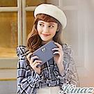 KINAZ 唯美期許L型拉鍊長夾-糖霜淺藍-甜蜜禮盒系列