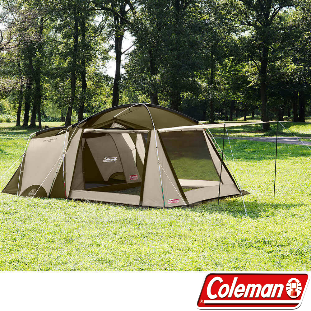 Coleman CM-33800 綠橄欖 Tough 2-Room 帳篷