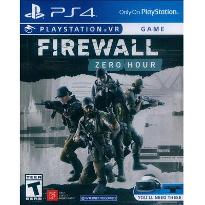 防火牆 絕命時刻 FIREWALL ZERO HOUR- PS4 英文美版 (PSVR專用)