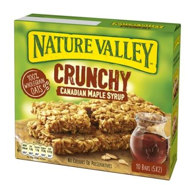 Nature Valley天然谷 纖穀派-楓糖燕麥(42gx5條)