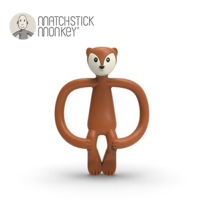Matchstick Monkey 英國 咬咬猴牙刷固齒器-狐狸法奇