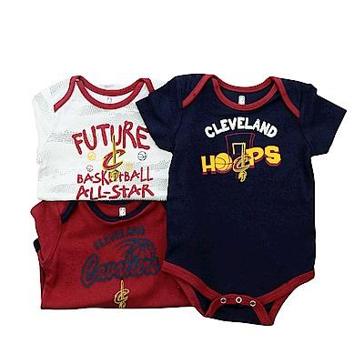 NBA 新生兒包屁衣三件組 騎士隊