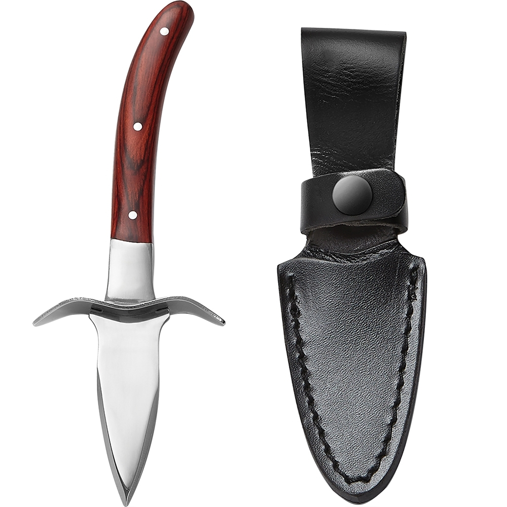 《FOXRUN》Outset附套木柄生蠔刀