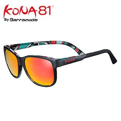 酷吶81 運動時尚太陽眼鏡 幾何轉印 KONA81 G3218