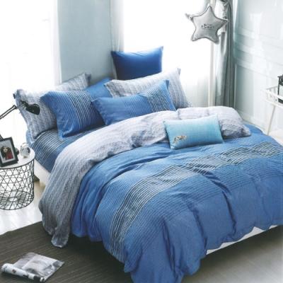Saint Rose頂級精緻100%天絲床罩八件組(包覆高度35CM)-威爾斯 雙人