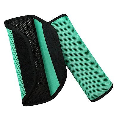 氣墊式安全帶護套(藍綠色)-急速配