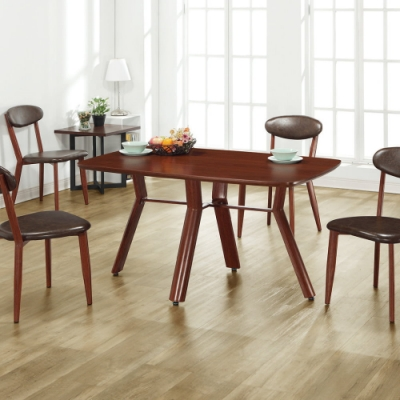 MUNA 威爾納4.3尺餐桌(不含椅) 130X80X74cm
