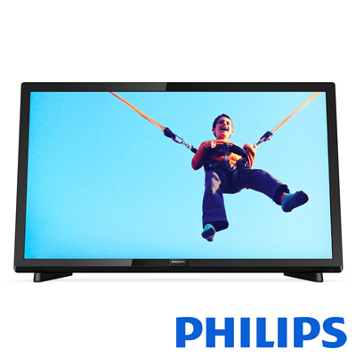 PHILIPS飛利浦 22吋 護眼液晶顯示器 視訊盒 22PFH5403