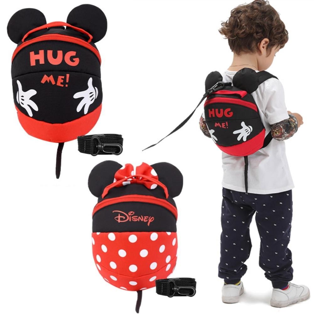 【優貝選】迪士尼 可愛米奇米妮造型防走失後背包 幼童背包