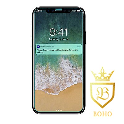 [BOHO]完全保護 非滿版 鋼化玻璃保護貼 9H iPhone XS Max