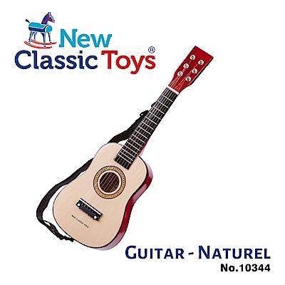 荷蘭New Classic Toys 幼兒音樂吉他-經典版B- 10344