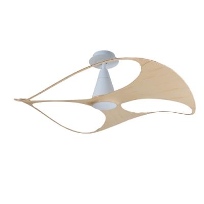 VENTO芬朵 SWISH 48吋燈扇 白色本體 淺竹紋葉片 不含安裝