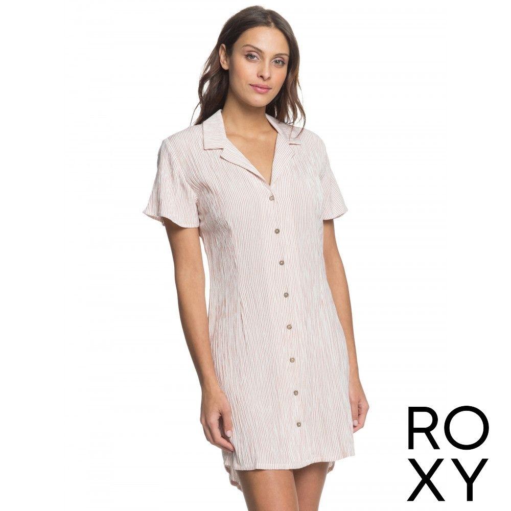 【ROXY】SECRETLY IN LOVE 洋裝 粉紅