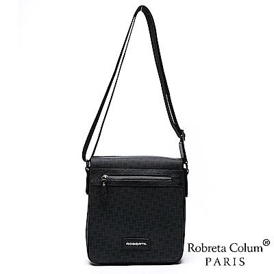 Roberta Colum - 尊爵雅士精品頭層牛皮斜背側背包