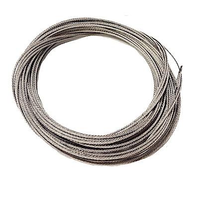 CZ003 長度1米 不鏽綱綱絲晒衣繩316L單桿式/雙桿式