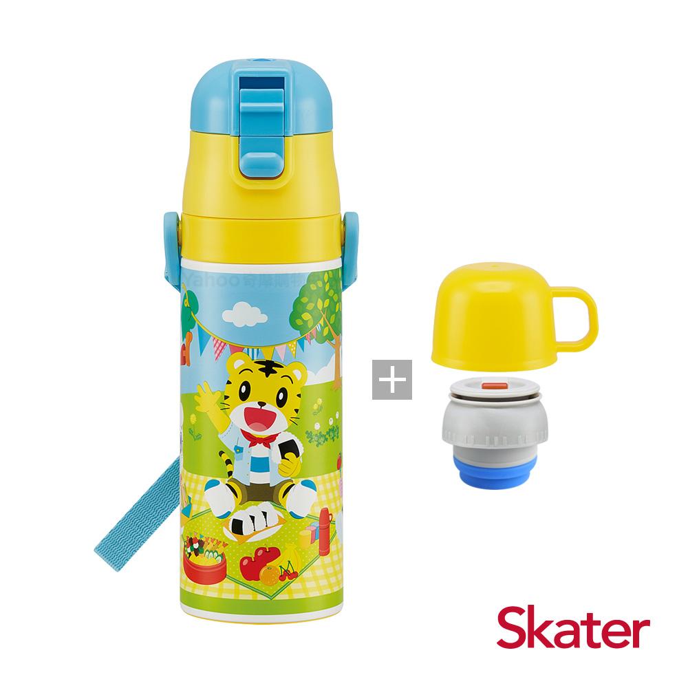 Skater直飲2way保溫水壺(附杯蓋組)-巧虎
