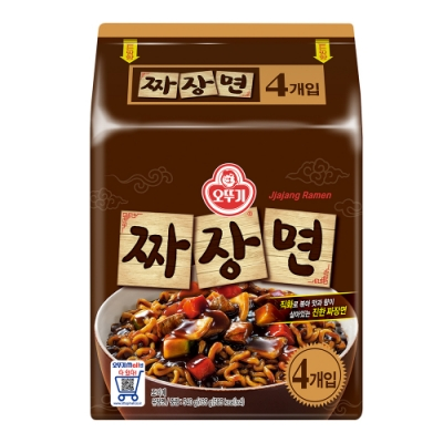 不倒翁  特級炸醬麵(135g*4入)