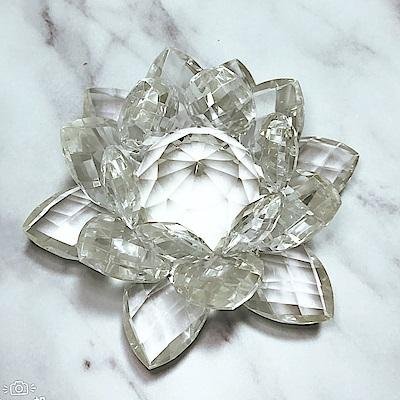 Hera 赫拉-(小)好運蓮蓮水晶蓮花燭台(單售蓮花)