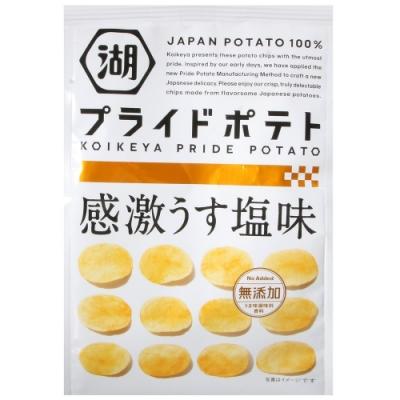 湖池屋 PRIDE POTATO鹽味薯片(60g)