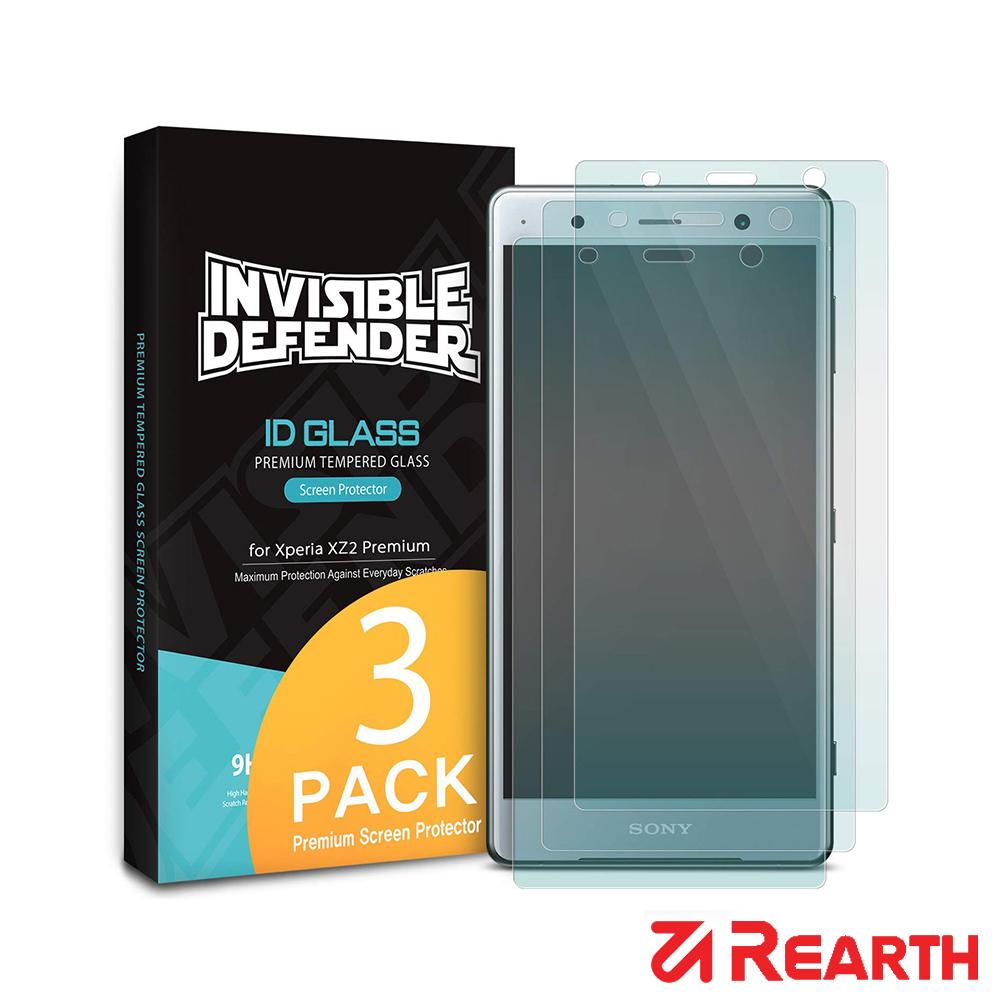 Rearth Sony Xperia XZ2 Premium 強化玻璃保護貼(三片裝)