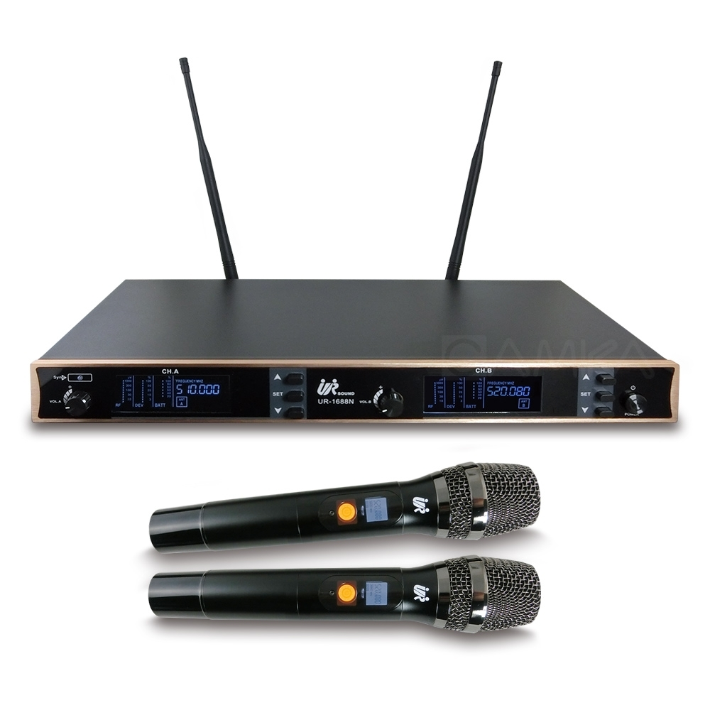 UR SOUND UHF多頻道無線麥克風 UR1688N