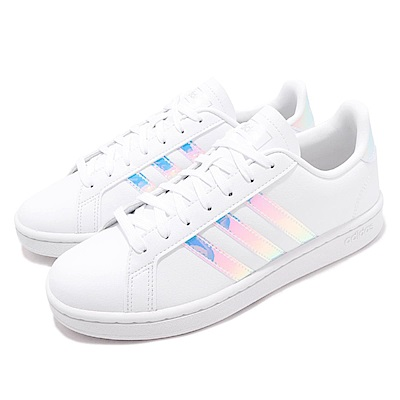 adidas 休閒鞋 Grand Court 低筒 穿搭 女鞋