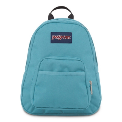 JanSport 校園背包(HALF PINT)-經典藍綠