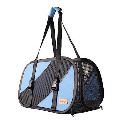 IBIYAYA依比呀呀-FC1702極簡休閒寵物包-藍