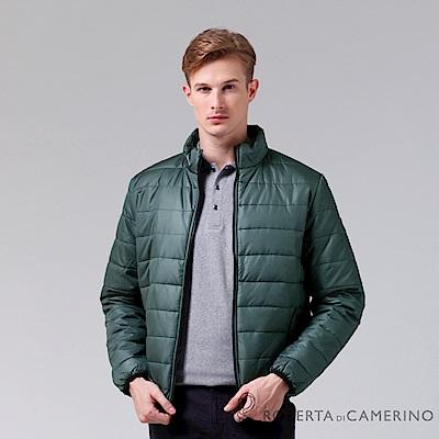 ROBERTA諾貝達 休閒極品 禦寒必備 厚舖棉夾克外套 灰綠