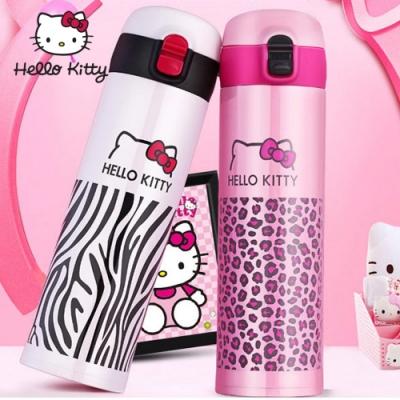 【優貝選】HELLO KITTY輕量兩用保冷/保溫直飲式水壺(480ML)