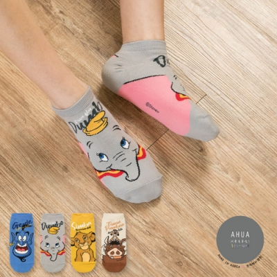 阿華有事嗎  韓國襪子 迪士尼經典電影人物短襪  韓妞必備 正韓百搭純棉襪