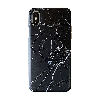 【TOYSELECT】iPhone6/6sPlusINS大理石氣囊支架手機殼